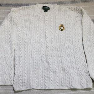 VTG LAUREN RALPH LAUREN Cable Knit Sweater